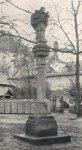 Toužim - sloup se sochou sv. Jana Nepomuckého |