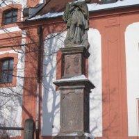 Valeč - socha sv. Jana Nepomuckého