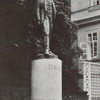 Jáchymov - pomník Tomáše Garrigua Masaryka