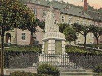 Jáchymov - pomník obětem prusko-rakouské války |
