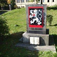 Jáchymov - pomník osvobození