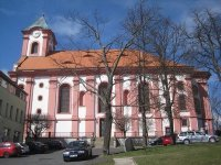Chodov - kostel sv. Vavřince |