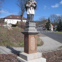 Tatrovice - socha sv. Jana Nepomuckého