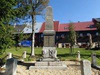 Boží Dar - pomník obětem 1. světové války |