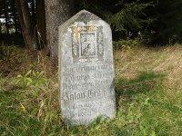 Rozhraní - pomník Antona Grögera | Rozhraní - pomník Antona Grögera