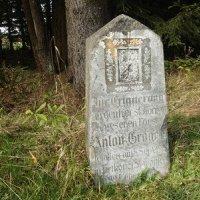 Rozhraní - pomník Antona Grögera