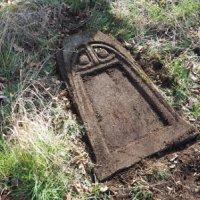 Mlýnce - pískovcový kříž