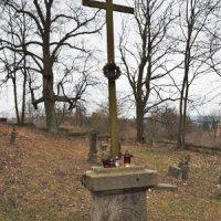Skoky - hřbitovní kříž