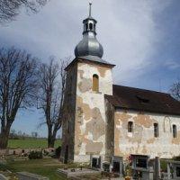 Verušice - kostel sv. Mikuláše