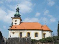 Kopanina - kostel sv. Jiří a sv. Jiljí | Kopanina - kostel sv. Jiří a sv. Jiljí