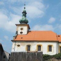 Kopanina - kostel sv. Jiří a sv. Jiljí
