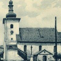 Prameny - kostel sv. Linharta