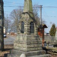 Rankovice - pomník obětem 1. světové války