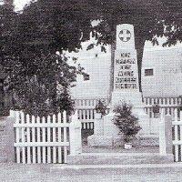 Teplička - pomník obětem 1. světové války