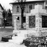 Rudné - pomník obětem 1. světové války