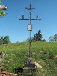 Andělská Hora - Hacklův kříž   Andělská Hora - Hacklův kříž