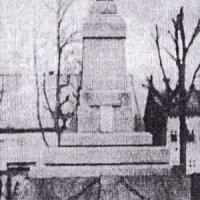 Horní Blatná - pomník obětem 1. světové války