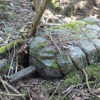 Hlineč - železný kříž