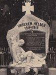 Hluboký - pomník obětem 1. světové války | Hluboký - pomník obětem 1. světové války