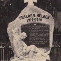 Hluboký - pomník obětem 1. světové války