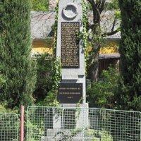 Jakubov - pomník obětem 1. světové války