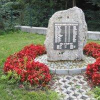 Merklín - pomník obětem 1. světové války