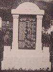 Dolní Lomnice - pomník obětem 1. světové války | Dolní Lomnice - pomník obětem 1. světové války