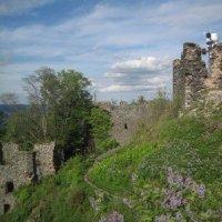 Andělská Hora - hrad Andělská Hora (Engelsburg)