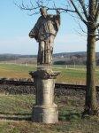 Štědrá - socha sv. Františka Xaverského | Štědrá - socha sv. Františka Xaverského