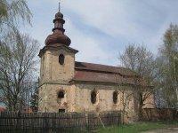 Komárov - kostel sv. Vavřince |