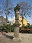 Krásné Údolí - socha sv. Jana Nepomuckého  