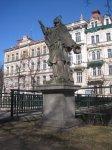 Karlovy Vary - socha sv. Jana Nepomuckého |