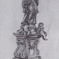Drahovice - socha sv. Jana Nepomuckého