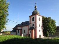Nahořečice - kostel sv. Václava |