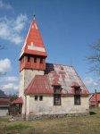 Horní Blatná - evangelický kostel |