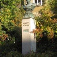 Březová - busta Theodora Körnera
