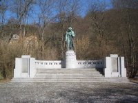 Karlovy Vary - pomník Ludwiga van Beethovena |