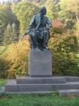 Karlovy Vary - pomník Bedřicha Smetany  