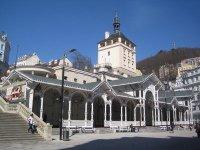 Karlovy Vary - Tržní kolonáda |