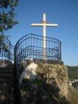 Karlovy Vary - kříž na Petrově výšině |