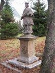 Boží Dar - socha sv. Jana Nepomuckého |