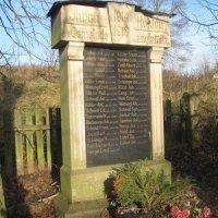 Dlouhá Lomnice - pomník obětem 1. světové války