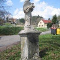 Brložec - socha sv. Jana Nepomuckého