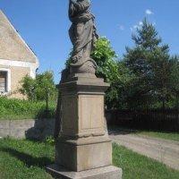Chyše - socha Panny Marie