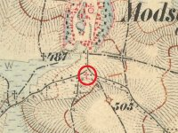 Močidlec - Mertlův kříž | Močidlec - Mertlův kříž