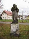 Krásný Les - socha Panny Marie  