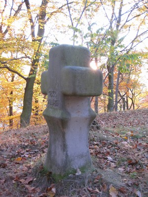 kopie smírčího kříže - říjen 2009