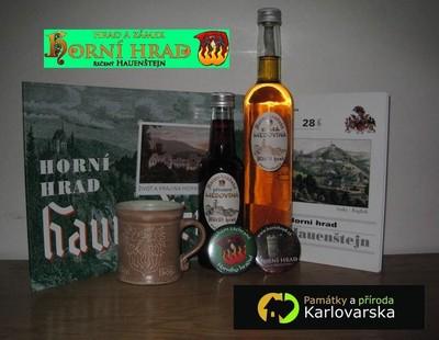 cena pro vítěze, kterou do soutěže věnoval hrad a zámek Hauenštejn-Horní Hrad (wwwhornihrad.cz)
