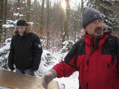 vyprávění archeologa Jiřího Klsáka - prosinec 2009