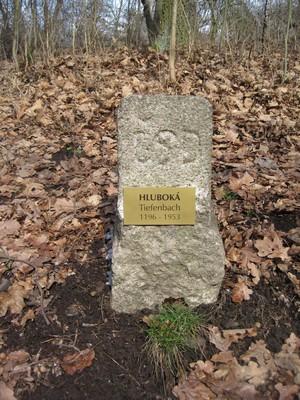 Hluboká (Tiefenbach) - 1196 - 1953